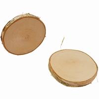 Boomschors berkenhout rond; Dia 9-10 CM