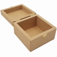 Kist vierkant leeg MDF (5494)
