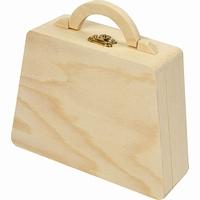 Kist / Tas met handvat grenen (7381)