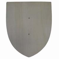 Schild natural; houten handvat